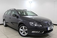 USED 2014 64 VOLKSWAGEN PASSAT 2.0 S TDI BLUEMOTION TECHNOLOGY 5DR 139 BHP 1 Owner Full Service History FULL VW SERVICE HISTORY + MULTI FUNCTION WHEEL + AIR CONDITIONING + RADIO/CD/USB/AUX + ELECTRIC WINDOWS + 16 INCH ALLOY WHEELS