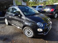 USED 2015 65 FIAT 500 0.9 TWINAIR LOUNGE 3d 85 BHP NEW SHAPE Very Low Mileage, Comprehensive Service History (Fiat + ourselves), One Lady Owner from new, MOT until September 2019, Excellent fuel economy! ZERO Road Tax!