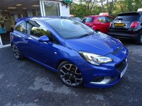 USED 2017 17 VAUXHALL CORSA 1.6 VXR 3d 202 BHP Full Vauxhall Service History, MOT until March 2020, Balance of Vauxhall Warranty until March 2020