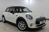 USED 2015 65 MINI HATCH COOPER 1.5 COOPER D 5DR 114 BHP 1 Owner Full Service History FULL MINI SERVICE HISTORY + HALF LEATHER SEATS + SAT NAVIGATION + BLUETOOTH + CRUISE CONTROL + MULTI FUNCTION WHEEL + CLIMATE CONTROL + 16 INCH ALLOY WHEELS