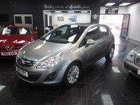2012 VAUXHALL CORSA 1.4 SE 5d 98 BHP £4999.00