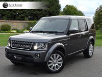 USED 2015 15 LAND ROVER DISCOVERY 4 3.0 SDV6 COMMERCIAL XS 1d AUTO 255 BHP LOW MILEAGE