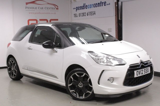 2012 12 CITROEN DS3 1.6 E-HDI DSTYLE PLUS 3d 90 BHP