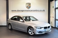 USED 2015 64 BMW 3 SERIES 2.0 320D EFFICIENTDYNAMICS 4DR AUTO 161 BHP service plan 1 owner + 1 OWNER FROM NEW + FULL BMW SERVICE HISTORY + SATELLITE NAVIGATION + BLUETOOTH + CRUISE CONTROL + RAIN SENSORS + PARKING SENSORS + 17 INCH ALLOY WHEELS +