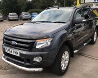 USED 2015 65 FORD RANGER WILDTRAK 4X4 DCB TDCI