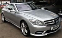 2014 MERCEDES-BENZ CL 4.7 CL500 BLUEEFFICIENCY 2d AUTO 435 BHP £28995.00
