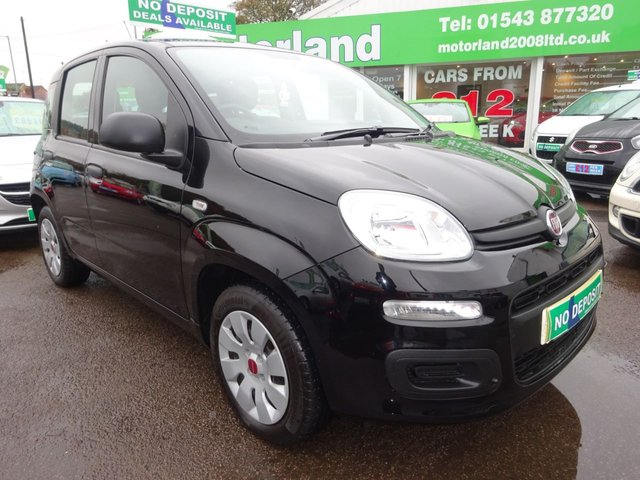 USED 2017 17 FIAT PANDA 1.2 POP 5d 69 BHP 1 PRIVATE OWNER FROM NEW....MANUFACTURER WARRANTY....£0 DEPOSIT FINANCE AVAILABLE