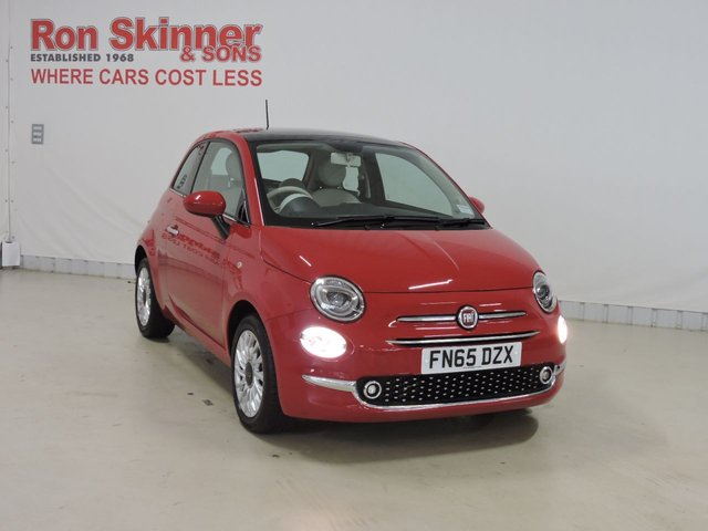 View our 2015 65 FIAT 500 0.9 TWINAIR LOUNGE 3d 85 BHP