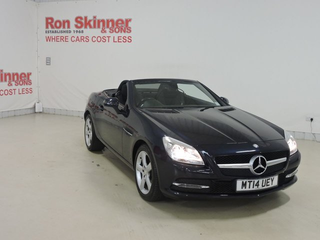 View our 2014 14 MERCEDES-BENZ SLK 2.1 SLK250 CDI BLUEEFFICIENCY 2d AUTO 204 BHP