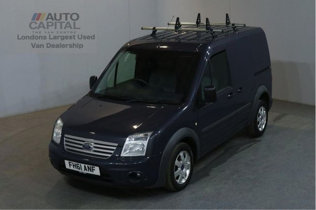 2012 61 FORD TRANSIT CONNECT 1.8 T200 LIMITED LR VDPF 110 BHP SWB AIR CON VAN NO VAT