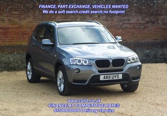 2011 BMW X3 2.0 XDRIVE20D SE 5d 181 BHP cat C £9500.00