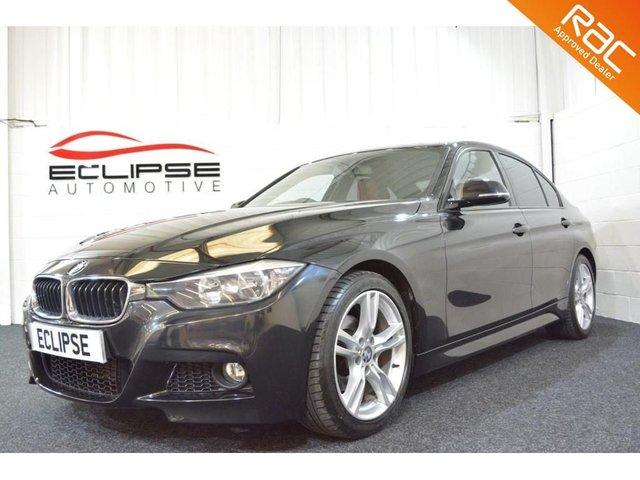 2012 62 BMW 3 SERIES 2.0 318D M SPORT 4d AUTO 141 BHP