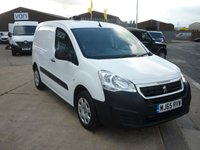 2015 PEUGEOT PARTNER 1.6 HDI PROFESSIONAL 625 1d 92 BHP AIR CON BLUETOOTH MESH BULKHEAD AND MORE  £6295.00