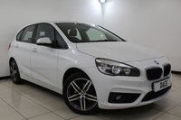 USED 2015 65 BMW 2 SERIES ACTIVE TOURER 2.0 218D SPORT ACTIVE TOURER 5DR 148 BHP 1 Owner Full Service History FULL BMW SERVICE HISTORY + HEATED LEATHER SEATS + SATELLITE NAVIGATION + BLUETOOTH + PARKING SENSOR + CRUISE CONTROL + CLIMATE CONTROL + MULTI FUNCTION WHEEL + 17 INCH ALLOY WHEELS