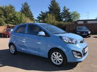 2014 KIA PICANTO 1.25 2 5d AUTO 84 BHP WITH 1 PRIVATE OWNER FROM NEW £SOLD
