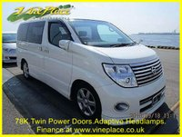2007 NISSAN ELGRAND  Highway Star 3.5 Urban Selection, Automatic,8 Seats,Only 78k £8000.00