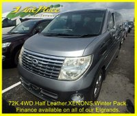 2005 NISSAN ELGRAND Nissan Elgrand 3.5 Highway Star, 4WD, 8 seats,  £8000.00