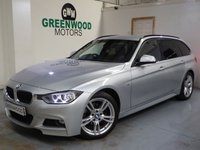 USED 2013 63 BMW 3 SERIES 2.0 320d BluePerformance M Sport Touring (s/s) 5dr AUTO
