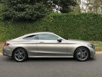 USED 2019 69 MERCEDES-BENZ C-CLASS 1.5 C200 EQ Boost AMG Line 9G-Tronic Plus (s/s) 2dr