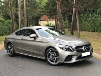 2018 MERCEDES-BENZ C-CLASS 1.5 C200 EQ Boost AMG Line 9G-Tronic Plus (s/s) 2dr £35995.00
