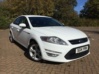 USED 2014 14 FORD MONDEO 2.0 GRAPHITE TDCI 5d 138 BHP