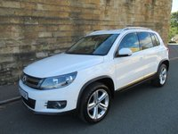 2012 VOLKSWAGEN TIGUAN 2.0 SPORT TDI BLUEMOTION TECHNOLOGY 4MOTION 5d 138 BHP £11200.00