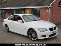 2012 BMW 3 SERIES 320D M SPORT (RED LEATHER) AUTOMATIC 2dr £9990.00