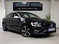2015 VOLVO S60 2.0 D3 R-DESIGN LUX NAV 4d AUTO 148 BHP £14980.00