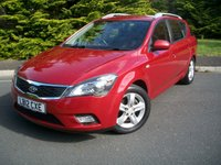 USED 2012 12 KIA CEED 1.6 2 SW 5d AUTO 124 BHP Superb Value Rare Automatic Estate, JUST 29,000 Miles From New with Full Service History!!!