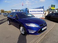 2014 FORD MONDEO 2.0 TITANIUM X BUSINESS EDITION TDCI 5d AUTO 161 BHP £10695.00