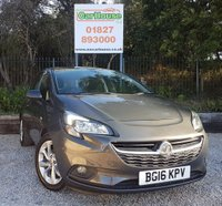 USED 2016 16 VAUXHALL CORSA 1.4 ENERGY AC ECOFLEX 3dr Heated Seats, Cruise, Media.