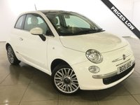 USED 2015 15 FIAT 500 1.2 LOUNGE 3d 69 BHP 1 Owner/Panoramic Roof/Air Con