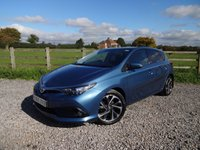 2015 TOYOTA AURIS 1.6 D-4D DESIGN 5d 110 BHP £SOLD