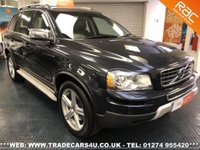 USED 2011 11 VOLVO XC90 2.4 D5 AWD R-DESIGN SE DIESEL AUTO 7 SEATER  UK DELIVERY* RAC APPROVED* FINANCE ARRANGED* PART EX