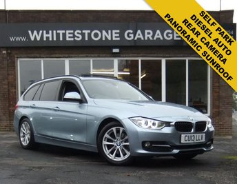 2013 BMW 3 SERIES 2.0 320D SPORT TOURING 5d 181 BHP £11995.00