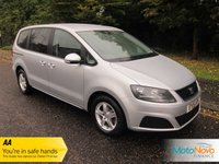 USED 2015 15 SEAT ALHAMBRA 2.0 CR TDI ECOMOTIVE S 5d 140 BHP Fantastic Value One Lady Owned Seat Alhambra with Seven Seats, Climate Control, Alloy Wheels and Seat Service History