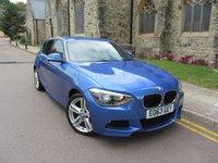 2013 BMW 1 SERIES 2.0 120D XDRIVE M SPORT 5d 181 BHP £12495.00