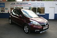 2013 RENAULT SCENIC 1.5 XMOD DYNAMIQUE TOMTOM ENERGY DCI S/S 5d 110 BHP £7450.00