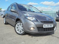 USED 2009 59 RENAULT CLIO 1.1 DYNAMIQUE 16V 5d 75 BHP EXCELLECNT CONDITION, ALLOYS, AIR-CON.