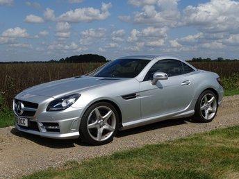 2012 MERCEDES-BENZ SLK 1.8 SLK200 BLUEEFFICIENCY AMG SPORT 2d AUTO 184 BHP £13995.00