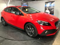 USED 2015 65 VOLVO V40 2.0 D2 CROSS COUNTRY LUX 5d AUTO 118 BHP Only £20 a year road tax :  Bluetooth :  DAB Radio :  Full leather upholstery :  Isofix fittings : Volvo City Safety system  :  Volvo ECO+ button  :  Full Volvo service history