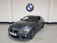 USED 2015 15 BMW 4 SERIES 3.0 435I M SPORT 2d AUTO 302 BHP 1 Owner/Bmw History/Pro-Nav/19 Alloys/Leather/Harmon