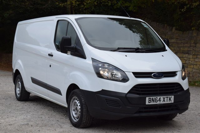 USED 2014 64 FORD TRANSIT CUSTOM 2.2 290 LR P/V 99 BHP