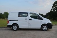 USED 2015 15 NISSAN NV200 1.5 DCI ACENTA 1d 90 BHP Double Cab 5 seats