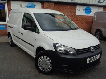 2015 VOLKSWAGEN CADDY MAXI 1.6 C20 TDI STARTLINE BLUEMOTION TECHNOLOGY 1d 101 BHP £6000.00