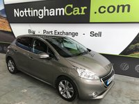 USED 2014 64 PEUGEOT 208 1.6 E-HDI ALLURE 5d 92 BHP