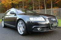 USED 2011 11 AUDI A6 2.0 AVANT TDI S LINE SPECIAL EDITION 5d AUTO 168 BHP A STUNNING A6 WITH LOW OWNERS, FULL HISTORY AND FULL BLACK LEATHER!!!