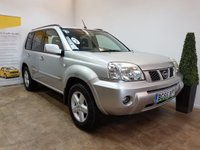 USED 2005 55 NISSAN X-TRAIL 2.2 SVE DCI 5d 135 BHP FULL SERVICE HISTORY 10 STAMPS IN THE SERVICE BOOK
