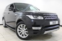 USED 2014 64 LAND ROVER RANGE ROVER SPORT 3.0 SDV6 HSE 5DR AUTOMATIC 288 BHP SAT NAV Full Service History FULL LAND ROVER SERVICE HISTORY + HEATED LEATHER SEATS + SIDE STEPS + SATELLITE NAVIGATION + REVERSE CAMERA + BLUETOOTH + PARKING SENSOR + CRUISE CONTROL + CLIMATE CONTROL + MULTI FUNCTION WHEEL + 20 INCH ALLOY WHEELS