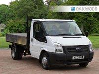 2012 FORD TRANSIT 2.2 350 DRW 1d 124 BHP £8995.00
